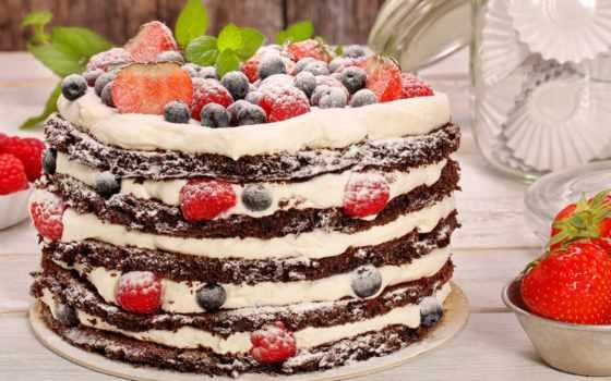 сладкое, еда, клубника, торты, взгляд, красивые, candy, торт, десерт, фотографий,