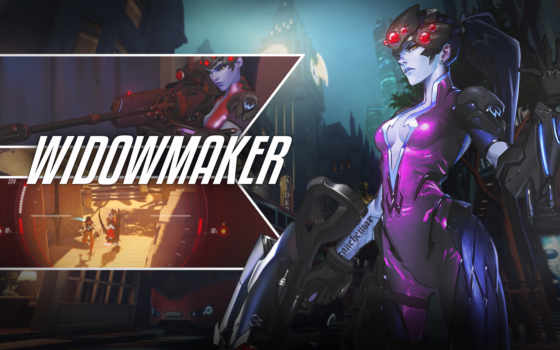 widowmaker, overwatch, gameplay