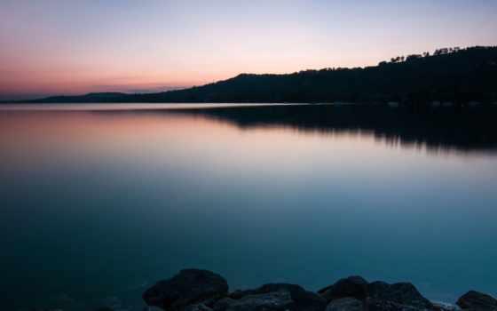 озеро, берег, water