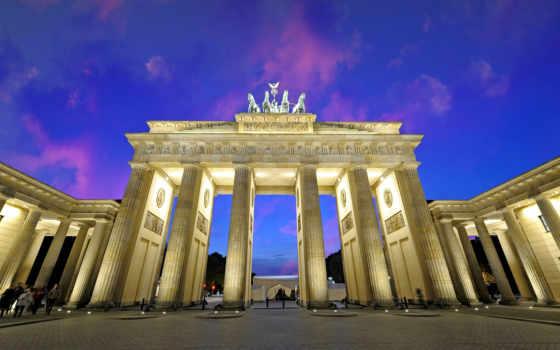 berlin, brandenburg, gate, достопримечател, своего, экскурсии, туры,