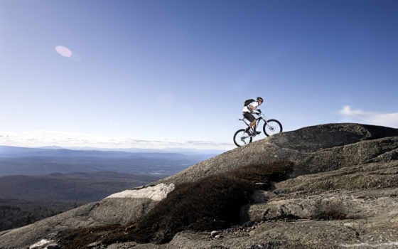 mountain, велосипед
