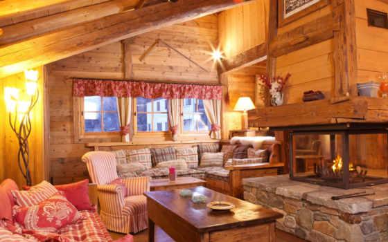 interer, dizain, stil, мебель, dom, диванов, каминь, комната, диваны, диван,