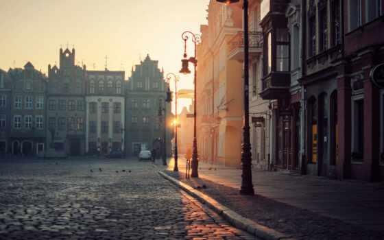 poland, town
