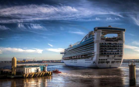 порт, море