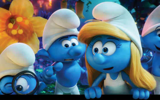 smurfs, деревня, lost, trailer, teaser, this, new, movie, animated, смурфики,