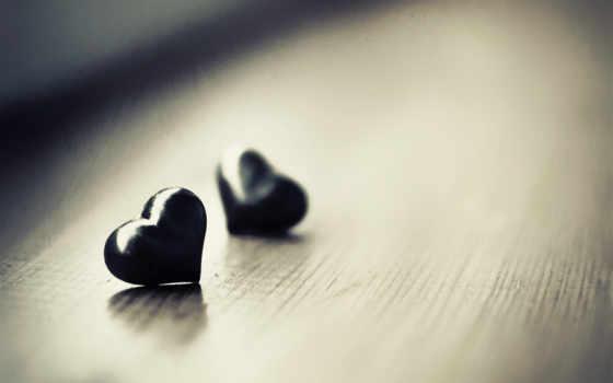 ,черный, сердечки, сердца, любовь