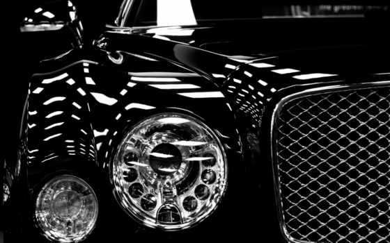 bentley, black, машина, mulsanne, media, чёрного, desktop,