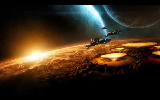 starcraft, cosmos, космос, планеты, star, ultra, share, уничтожение, desktop,