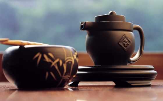 чая, китаянка, чайная, японская, пуэр, церемония, чая, февр,