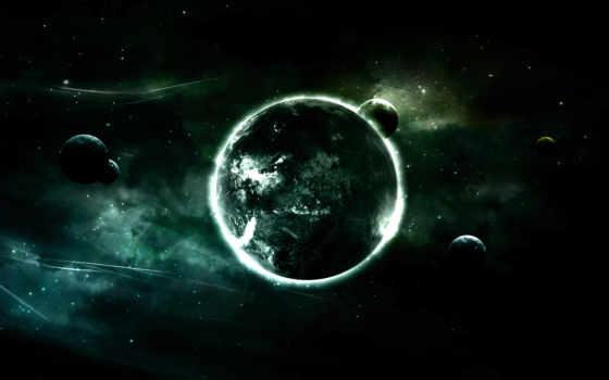луны, планета