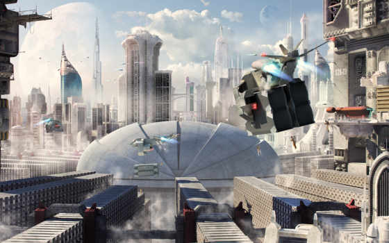 rem, город, будущее