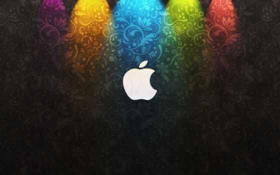 apple, логотип, mac