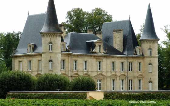 chateau, medoc, pichon, french, тур, free, château,