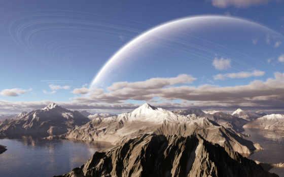 сатурн, planet, world, спина,