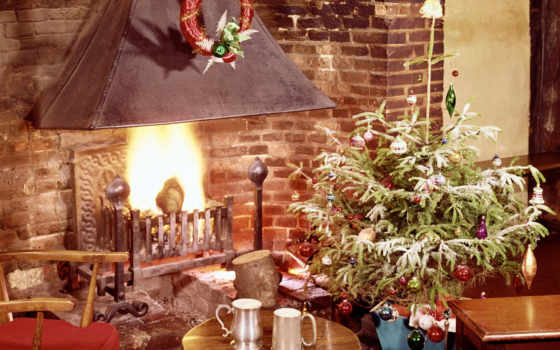 домашний, уют, рождество, праздники, новогодние, resimleri, новый, год,