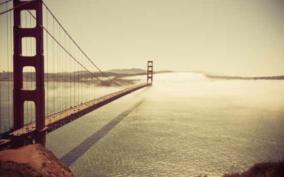 мост, золотые, дверь