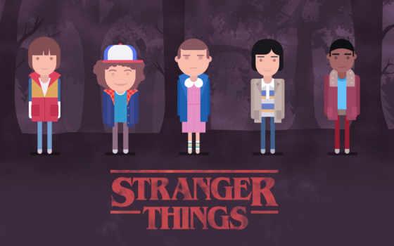 stranger, things, minimal, desktop, тв, серия, season,