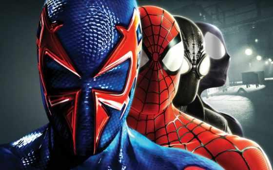 паук, мужчина, сквозь, вселенные, shattered, сниматься, company, размеры, entertainment,