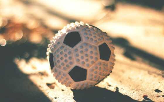 поле, мяч, взгляд