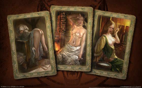 ведьмак, карты