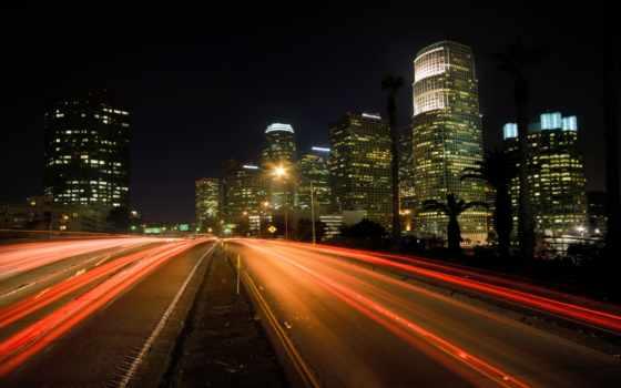 city, night