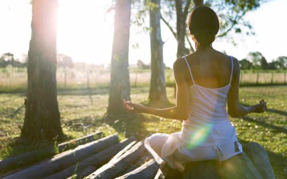 девушка, sun, природа, йога, нравится,