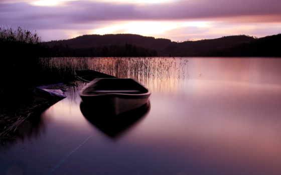 лодка, подборка, красивых