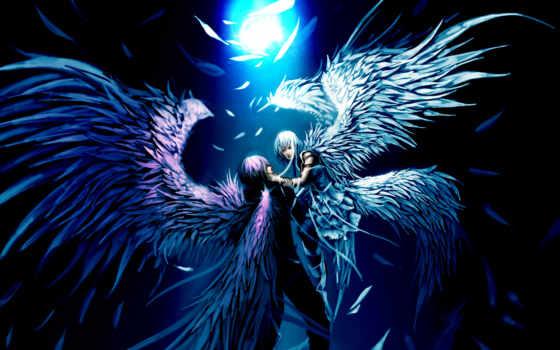 angel, парень, девушка