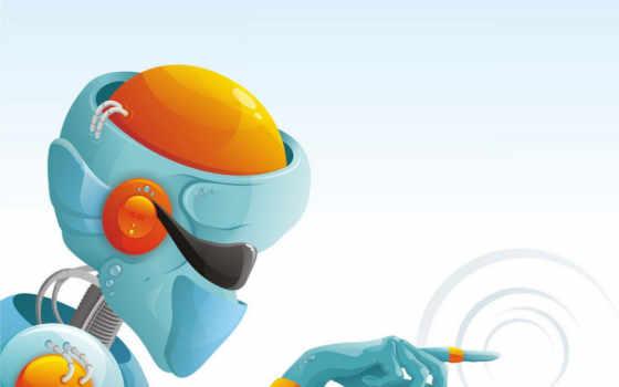 robot, вектор, минимализм Фон № 101437 разрешение 1920x1200