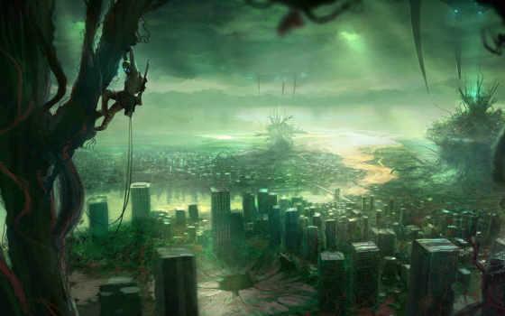 постапокалипсис, город, possible, тегам,