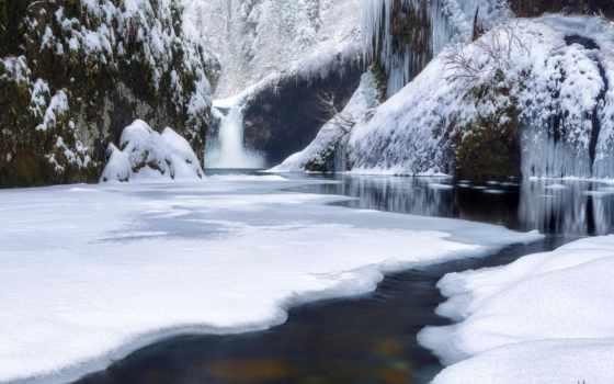 замерзших, водопадов, фотографий, нояб, водопады, winter, фантастические, полностью, природа, совсем, скоро,