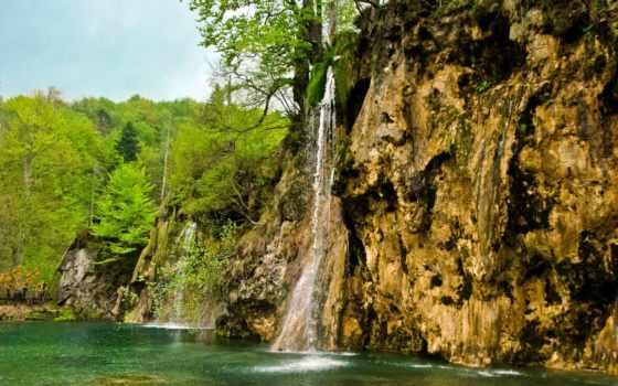 park, national, lakes, plitvice, хорватия, водопады, картинка, природа,
