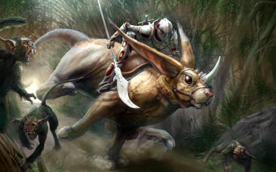 fantasy, spear, изображение, warriors, desktop, тематика, фото,