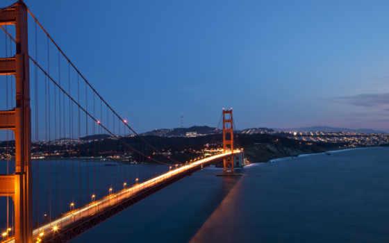 gate, золотистый, мост,