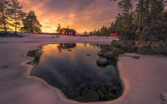 fotoprikol, norwegian, скандинавский, one, озеро, fonwall, собрать, free, качественные, красивый