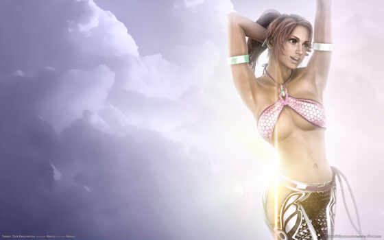tekken, dark, resurrection, girl, игры, fantasy, games, women, óîï, облаках, this, girls, png, you, gallery,