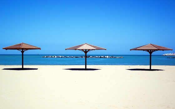 пляж, море, песок, доминикане,