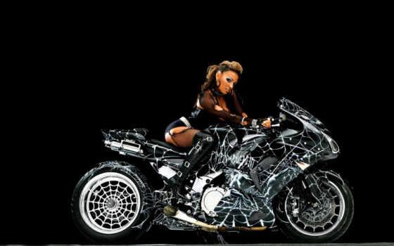 мотоцикл, мотоциклы, паук