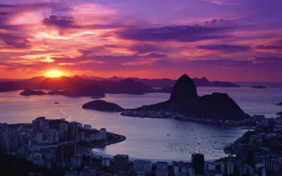 windows, закат, природа, brazil, упадок, francisco, sana, ultimate, red, desktop,