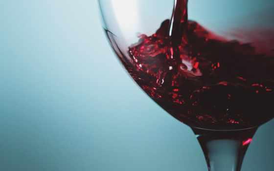 glass, вино, красное