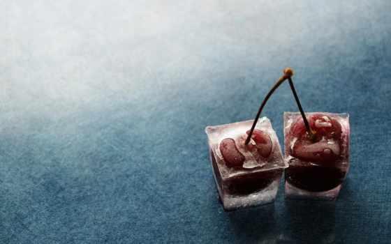 красивые, winter, cherry, one, украсят, место, вишни, smartphone, высококачествен,