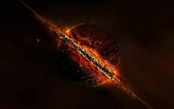 planet, exploding, planets, взрыв, космос, universe, stars, boom, desktop,