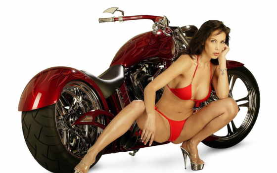 bikes, girls, красный, wallpapers,, дикий, wallpaper, backgrounds, bike,