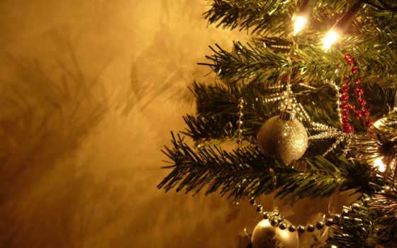 новогодние, год, new, десктопмания, высококачественные, дерево, украсят,