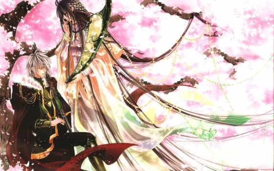 prince, наполовину, гуи, art, эльфы, Сакура, половину, wang, зи,