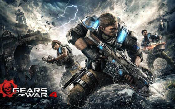 gears, war, обзор, video, xbox, игры, one,