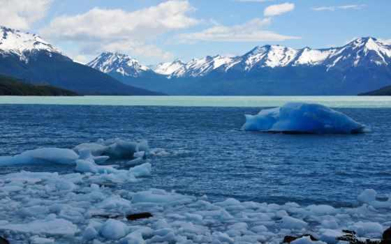 los, glaciares, nacional, parque, санта, аргентина, cruz, imagini,