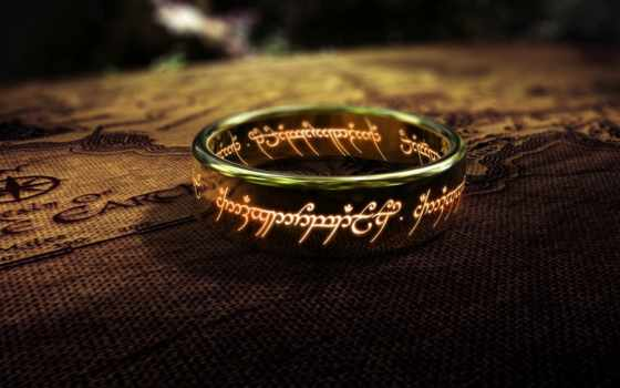 los, señor, anillos, pantalla, fondos, anillo, letras, fondo,