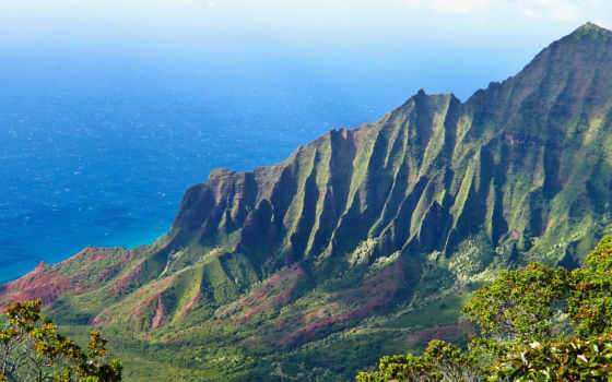 гора, море, пали, park, коллекция, природа, побережье, state, ocean