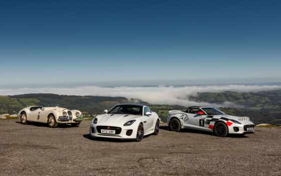 вид, jaguar, rally, car, кабриолет